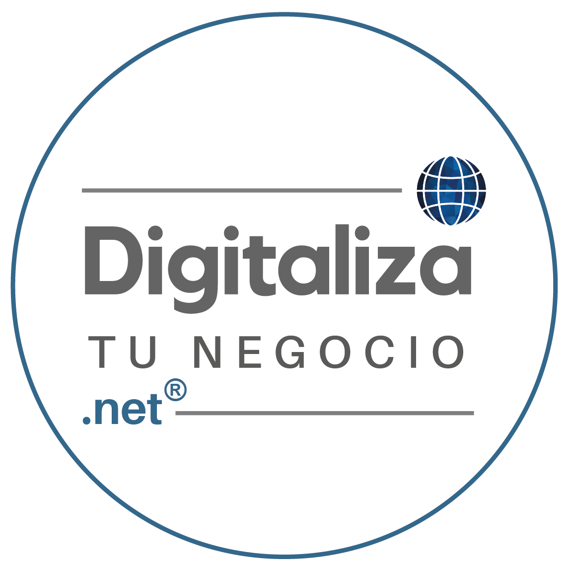 Digitaliza Tu Negocio | digitalizatunegocio.net | Logo.