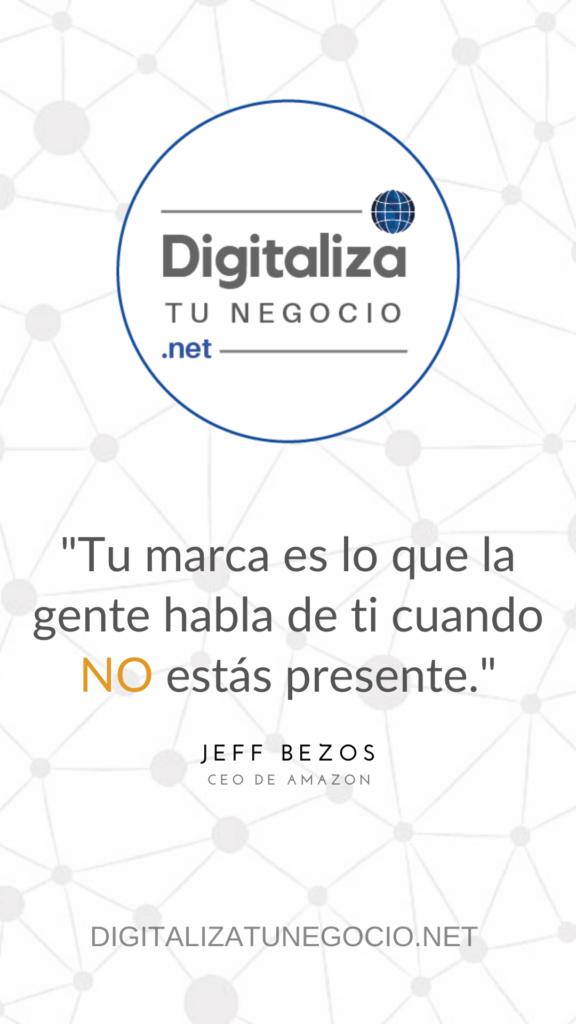 Digitaliza Tu Negocio - Jeff Bezos